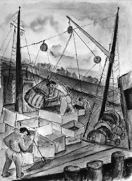 Fisherman in Gloucester