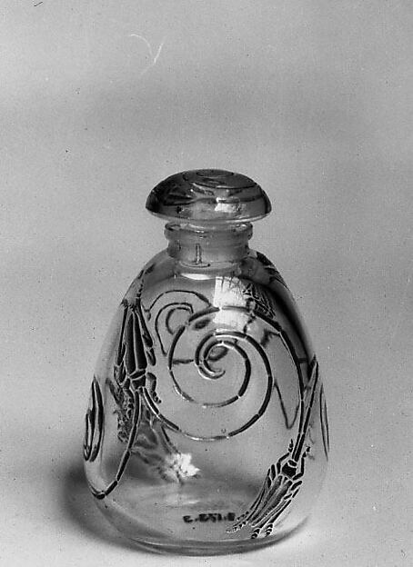 """Capricornes"" (Capricorn Beetles) Bottle with Stopper"