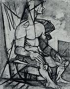 Untitled (male figure study)