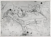 "Study for ""The Dining Table"""