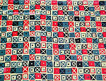 """Cross Patch"" Textile"