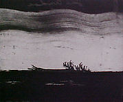 Portfolio of 6 Aquatints: Falling Tree