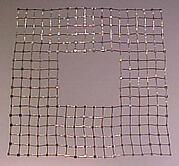 """Hard Grid"" Neckpiece"