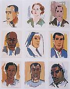 Portraits of Plantation People