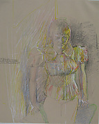 3rd Study for Portrait of Chris Sickler