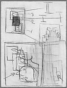 Untitled (lecture demonstration drawing)