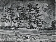 Straggly Pines