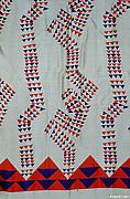 """Americana Print: Revolt"" Textile"