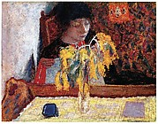 Woman with Mimosa