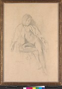 Study for the painting &lt;i&gt;Nude Resting&lt;/i&gt;