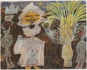 Bedouins et palmier