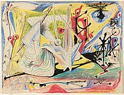 "Untitled, 1937 ""Au prince"""