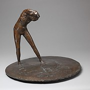 Girl on a Round Base