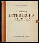 """Harmonies: Intérieurs de Ruhlmann"" Portfolio"