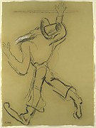 Self-Portrait as a Hasidic Dancer (After Max Weber)