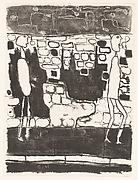 Deux hommes au pied du mur