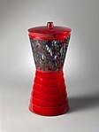 """Murrine rosse - Caledoscopio N.3"" Vase"