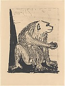 Baboon, from <i>Picasso: Original Etchings for the Texts of Buffon</i>