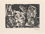 Blind Minotaur Led by a Girl through the Night, from the <i>Vollard Suite</i>