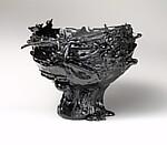 """Black Rotation"" Vase"