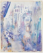 """From the Window of """"291"""", Looking Down Fifth Avenue"""