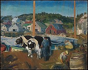 Ox Team, Wharf at Matinicus