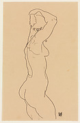 Standing Nude, Facing Right