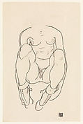Torso of a Seated Woman with Boots