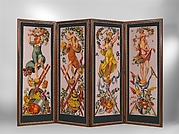 """The Gardens"" Folding Screen"