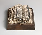 Bible with Black Page