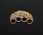 """Brass Knuckles"" Ring"