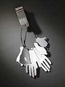 Perspex Hands Chatelaine