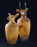 Canopic Jars: Elk (Cow)