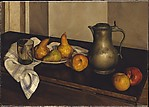 Pears with Pewter