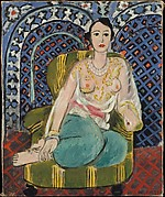 Seated Odalisque