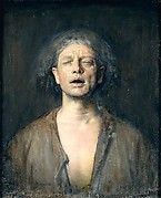 Self-Portrait with Eyes Closed
