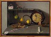 Still Life with a Clock