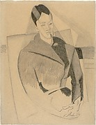 Portrait of Mme Cézanne after Cézanne