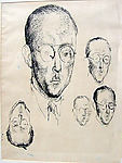 Heads of an unknown Man