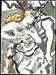 Wotan Kissing Away Brunhilde's Godlike Power (three)