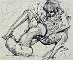 Untitled (erotic scene)