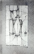 Drawing of a Coffeepot (for Kandinsky's Class, Bauhaus)