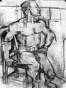 Untitled (male nude study)