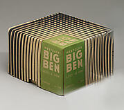 "Box for ""Big Ben"" Alarm Clock"