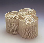 Tri-Lobed Vessel and Contents (Perforated Vessel Series)