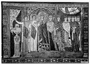 Empress Theodora and Members of Her Court