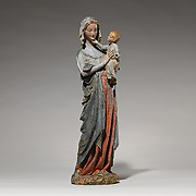 Devotional Statuette of the Virgin and Child