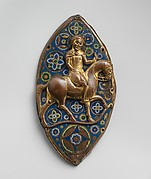 Equestrian Plaque
