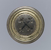 Disk brooch