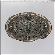 Oval Brooch